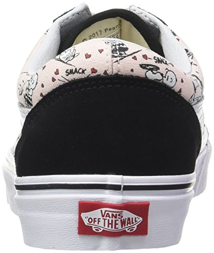 Old White Trainers Vans Smack Pearl Classic Peanuts Skool Mens Black wOfx4pxq6A