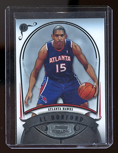 2007-08 Bowman Sterling #AH1 Al Horford Rookie Card - NM/Mint Condition Ships in a New Holder (Sterling Card Holder)