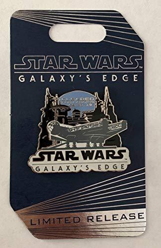Star Wars Pin Galaxy's Edge Landing - Cleared for Landing Disney Pin]()