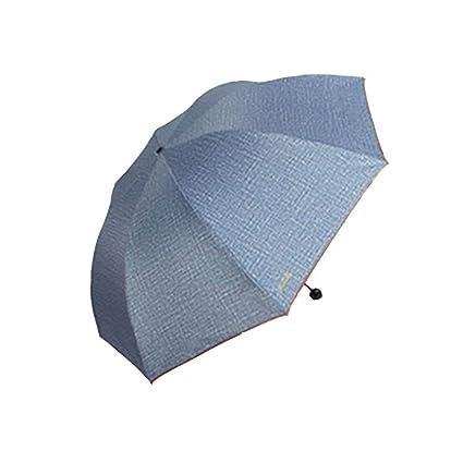 Paraguas Paraguas Doble Tuba Hombres Y Mujeres De Setenta Por Ciento De Los Paraguas Sombrilla Anti