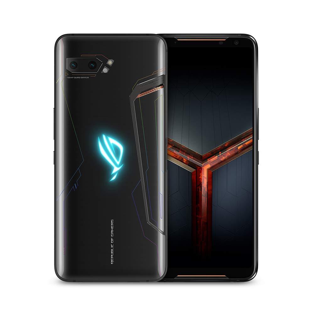 ASUS ROG Gaming Phone II (ZS660KL-S855P-12G512G-BK) – 6.6″ FHD+ 2340×1080 HDR 120Hz Display – 48MP/13MP Camera – 12GB RAM – 512GB Storage – LTE Unlocked Dual SIM Cell Phone – US Warranty – Black