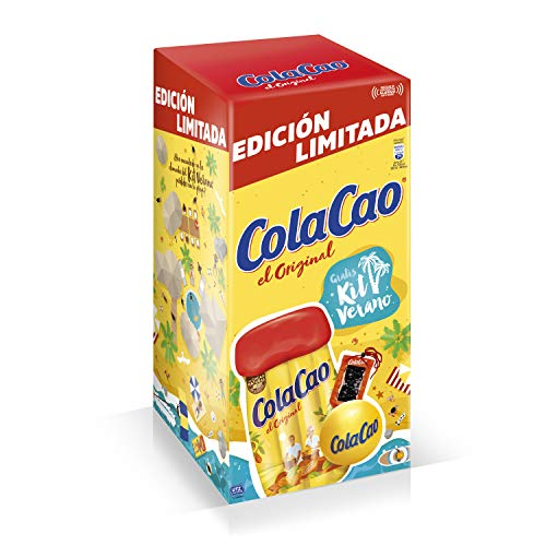 ColaCao Original: con Cacao Natural – 4,5kg (Gratis Kit Verano)