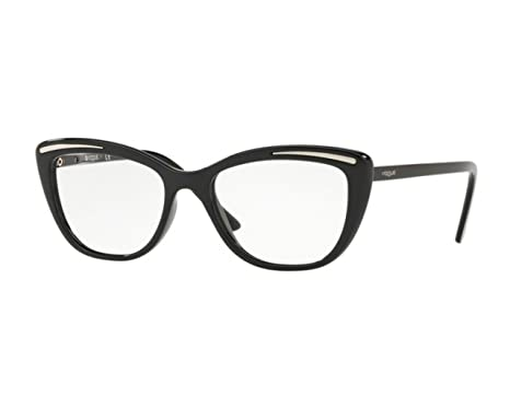 VOGUE Vogue Damen Brille » VO5218«, schwarz, W44 - schwarz