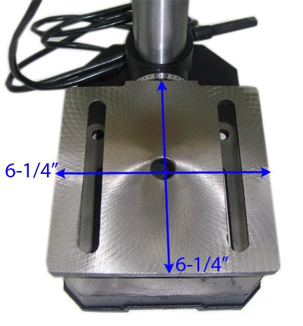 5 Speed Table Press RPM