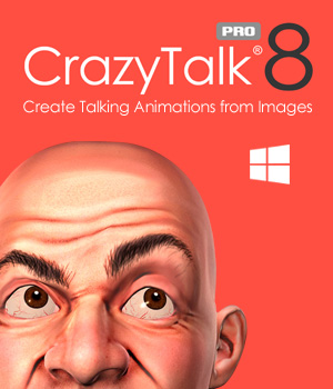 CrazyTalk 8 PRO (PC) [Download] by Reallusion