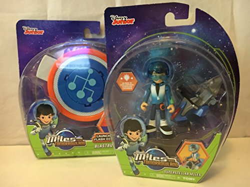 Miles From Tomorrowland Blastbuckle & Superstellar Miles Action Figure