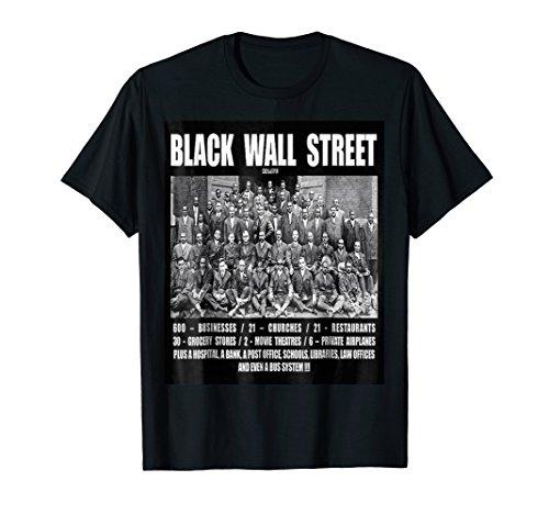 (Black Wall Street T Shirt Z)