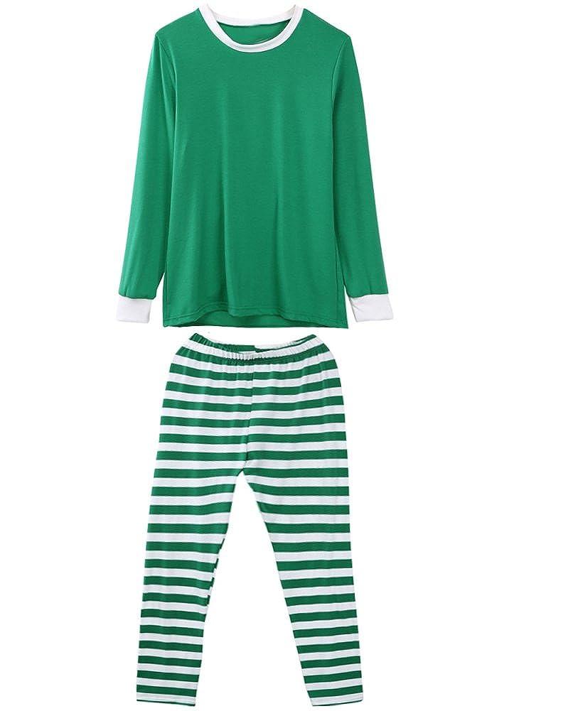 Faithtur Christmas Pyjamas Lounge Wear Long Sleeve Pyjama Set Lounge Pjs