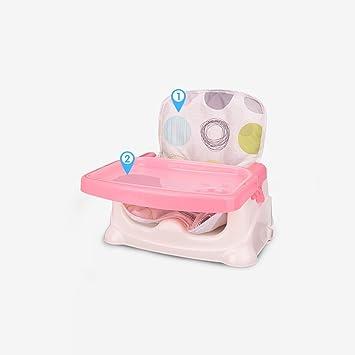 Amazon.com: Portátil silla de bebé, bebé plegable charola de ...