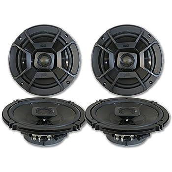Negro 6,5 Juego de 2 Polk Audio db652/Ultramarine Equilibrio din/ámico Altavoces coaxiales