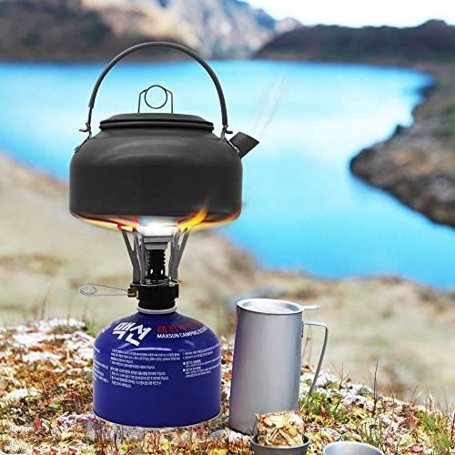 Ecotek Hornillo de Gas Camping hervidor Mini Camping Gas ...