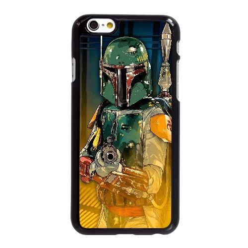 Boba Fett Digital Art 3165 L2V43J5YS coque iPhone 6 6S Plus 5.5 Inch case coque black 66TKD8