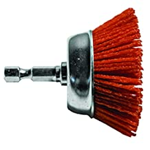 "Century Drill & Tool 77221 Coarse Nylon Abrasive Cup Brush, 2"""