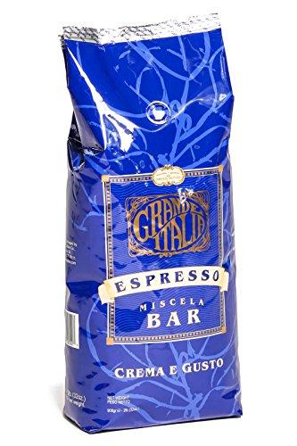 Grande Italia: Espresso Whole Beans: Mescela Bar: Crema e Gusto: (Grand Espresso Beans)