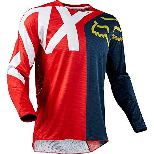 - Fox Racing 2018 360 Preme Jersey-Navy/Red-M