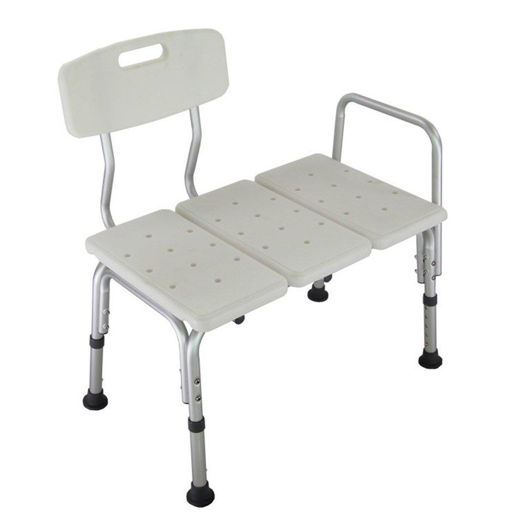 シャワー椅子、高さ調節可能なノンスリップ老人妊娠中の女性シャワーチェア浴室シャワーチェア B078RF4L55