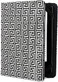 Jonathan Adler Greek Key Cover - Black/White (Fits Kindle Paperwhite, Kindle & Kindle Touch)