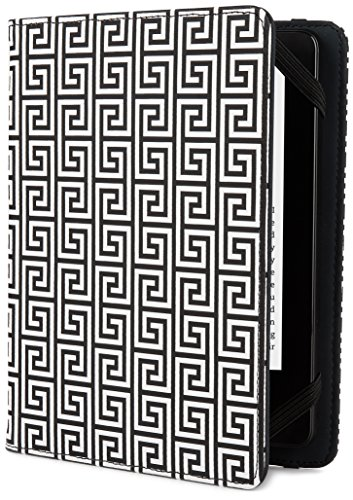 Jonathan Adler Greek Key Cover - Black/White (Fits Kindle Paperwhite, Kindle & Kindle Touch)