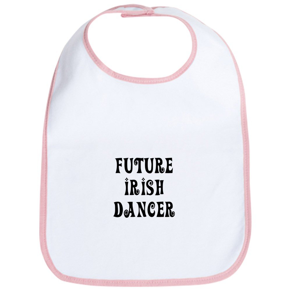 CafePress - Future Irish Dancer - Cute Cloth Baby Bib, Toddler Bib