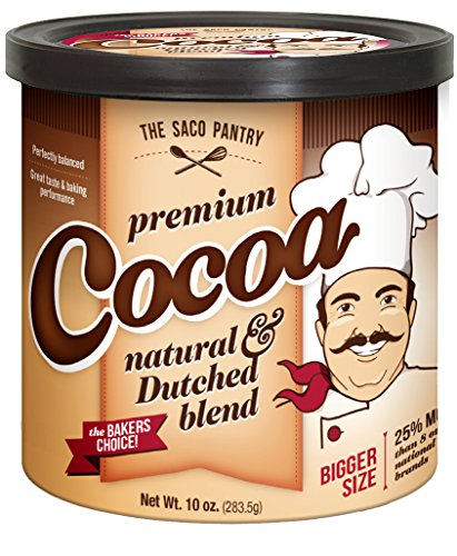 (Saco Premium Baking Cocoa, 10-Ounce Canisters (Pack of 12))
