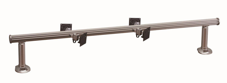 Cotytech Wandhalterung Schreibtisch-Halterung für 4 Monitore horizontale Ohne Arm