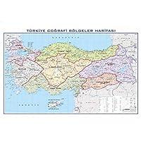 Gürbüz Yayınları 21033 Türkiye Bölgeler 70 X 100