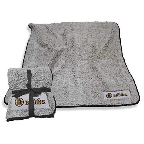 Bruins Blanket Boston (Logo Boston Bruins NHL Frosty Fleece 60 X 50 Blanket - Team Color,)