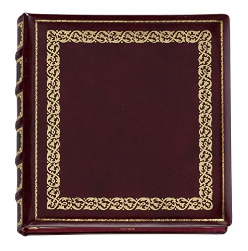 Library Leather Photo Album by Exposures