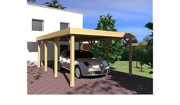 CarPort tejado plano Silverstone IV – 335 X 600 cm tejado plano ...