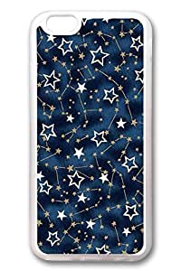 DDJK Case 6 plus Case, iPhone 6 plus Case - Best Protector with Customized Design for iPhone 6 Plus Stars Crystal Clear Soft Rubber Case for iPhone Plus 5.5 Inches