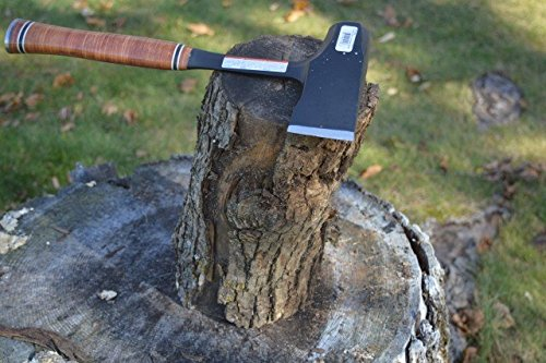 "Estwing Special Edition Fireside Friend Axe - 14"" Wood Splitting Maul with Forged Steel Construction & Genuine Leather Grip - EFF4SE"