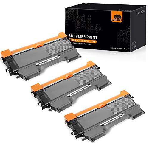 JARBO Compatible for Brother TN450 TN-450 Toner Cartridges, 3 Black, Use with Brother HL-2270DW HL-2280DW HL-2230 HL-2240 HL-224D Brother MFC-7860DW MFC-7360N Brother DCP-7065DN Printer