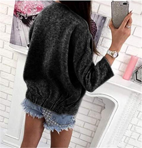 BoBoLily Warm Cardigan Femme Hiver Automne Tricot El en Veste r0naWpYq6r