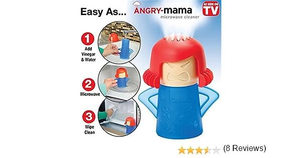Angry Mama microondas equipo de limpieza a altas temperaturas de ...