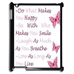 DIY Phone Case for Ipad 2,3,4, Happy Life Cover Case - HL-503295