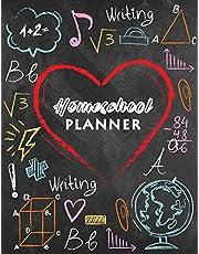 Homeschool Planner: Undated Homeschool Planner, Lesson Plan and Record Book Check-Off, Uncompicated Homeschooling Resource Learning, Lesson Planner Book Organizer, Teacher Notebook