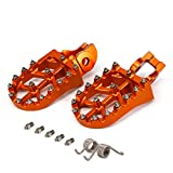 CNC MX Foot Pegs Footpegs Rest Pedals - KTM 2016-2017 125-500 SXF EXCF XCF XCW