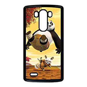 Kung Fu Panda 002 LG G3 Cell Phone Case Black TPU Phone Case RV_665735