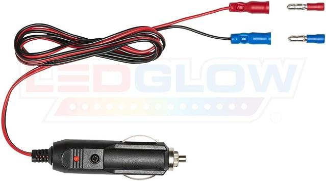 [SCHEMATICS_48ZD]  Amazon.com: LEDGlow 12 Volt Cigarette Lighter Power Adapter - Quick Connect  Crimp Connectors - Easy To Plug In: Automotive | Device For Car Cigarette Lighter Wiring Diagram |  | Amazon.com
