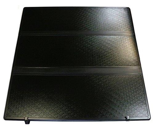 Tri-Fold Hard Tonneau Cover for Toyota Tacoma Single/Double Cab 5ft Bed 2016+ 703348 Toyota Tacoma Fiberglass