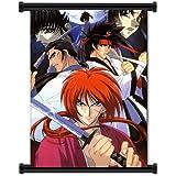 "Rurouni Kenshin Anime Fabric Wall Scroll Poster (16"" x 22"") Inches. [WP]-Rurouni-11"
