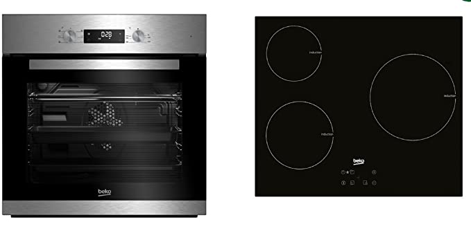 Beko - Conjunto de horno multifunción + placa de inducción ...