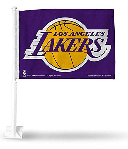- Los Angeles Lakers - NBA Car Flag (Purple)