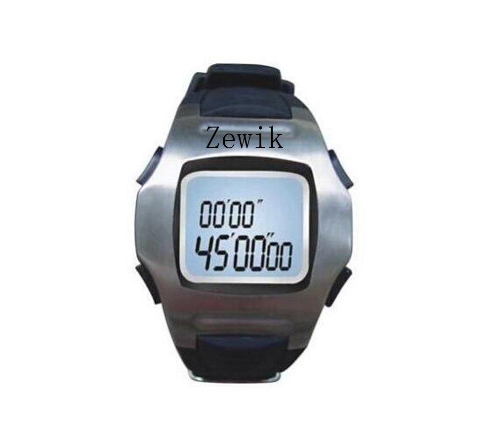 Zewik Professional Soccer Wrist Stopwatch Judge Watches Referee Watch Sports Stopwatch
