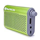Portable Backup Battery Charger with Onboard Bluetooth Speaker and FM Radio by GOgroove - Works With Apple iPhone 6 , Samsung Galaxy S6 , LG G4 & More