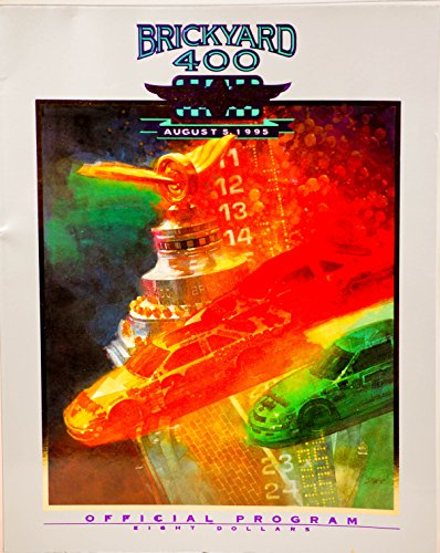 Page Race Poster - 1995 - Indianapolis Motor Speedway - Brickyard 400 - August 5, 1995 - Official Program - 192 Pages - w/ Starting Lineup Supplement - Out of Print - Like New - Collectible