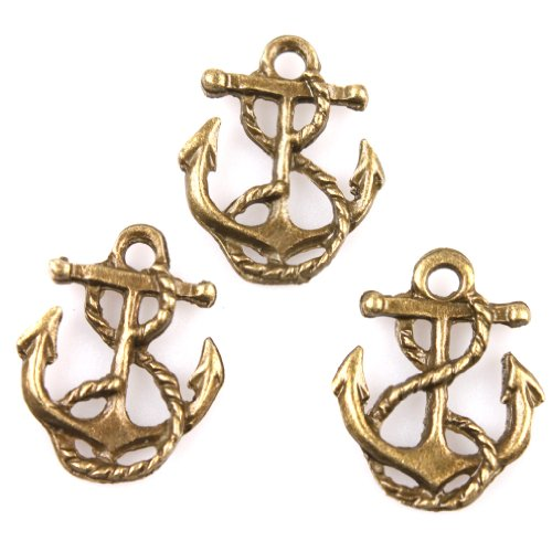 70Pcs-Charms-Anchor-And-Rope-Antique-Bronze-Alloy-Handmade-Jewelry-Making-Findings