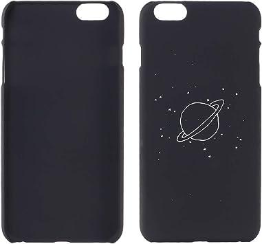 Estuche rígido para teléfono con Textura Mate y patrón de Sole Planet en el Universo para iPhone 6 / 6S: Amazon.es: Electrónica