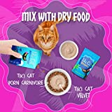 Tiki Cat Velvet Mousse Grain-Free Wet Food with a