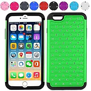 TOPMM Two-in-One All Over The Sky Star Design PC and Silicone Cover for iPhone 6 (Assorted Colors) , Gray